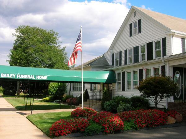 Bailey Funeral Home Exterior