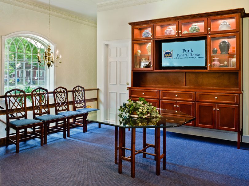 Funk Funeral Home Interior