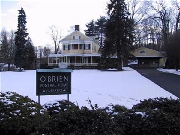 O'Brien Funeral Home Exterior