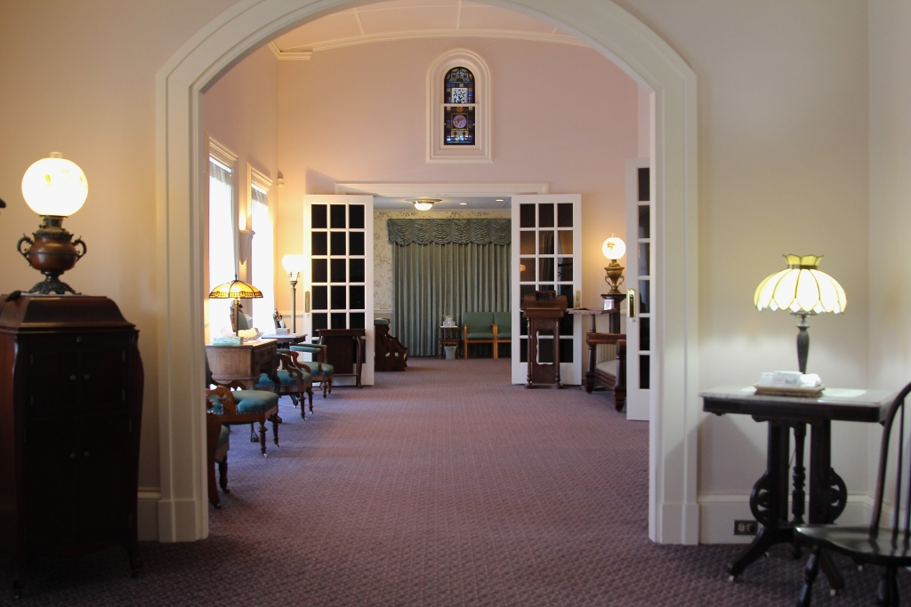 O'Brien Funeral Home Interior