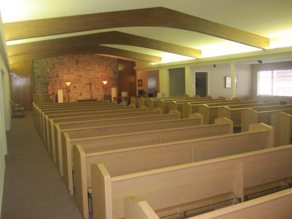 Higgins Chapel Interior
