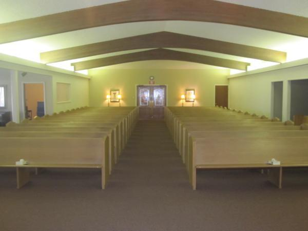 Higgins Chapel Interior