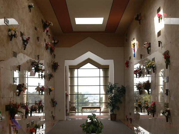 Rolling Hills Memorial Park Serenity Mausoleum Interior