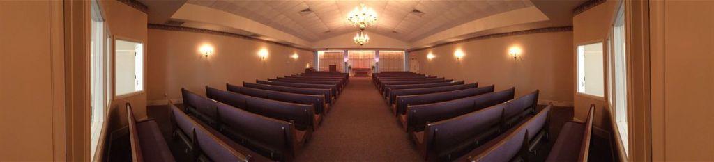 San Benito Funeral Home Interior