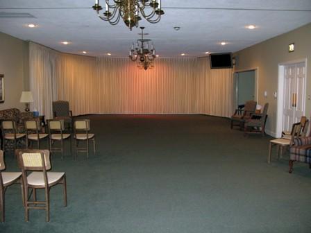 Bryan & Hardwick Funeral Home Interior