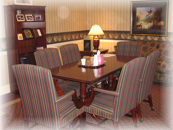 A.A. Mariani and Son Funeral Home Interior