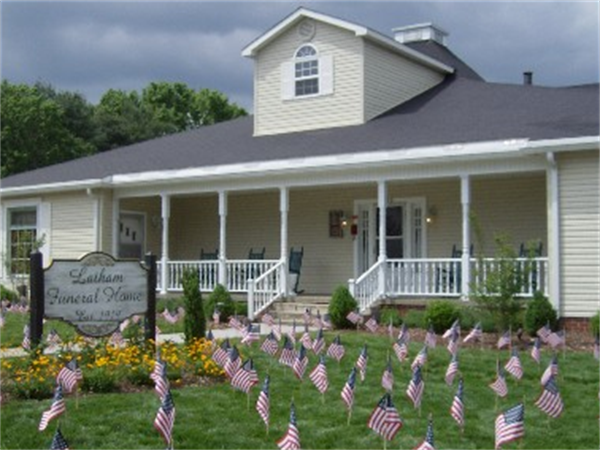 Latham Funeral Home Exterior