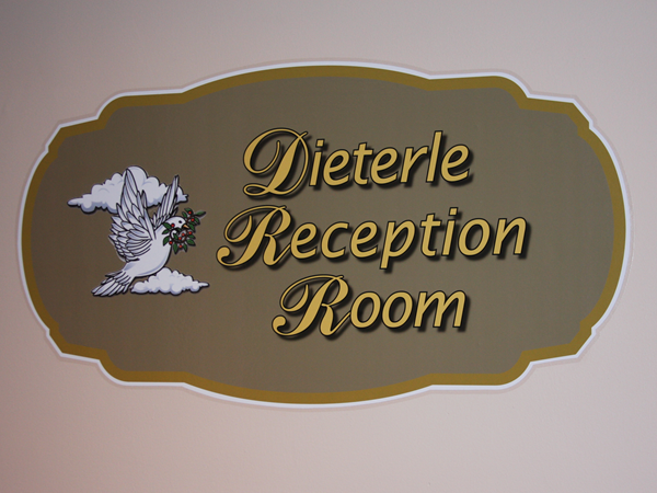 Dieterle Memorial Home Reception Room