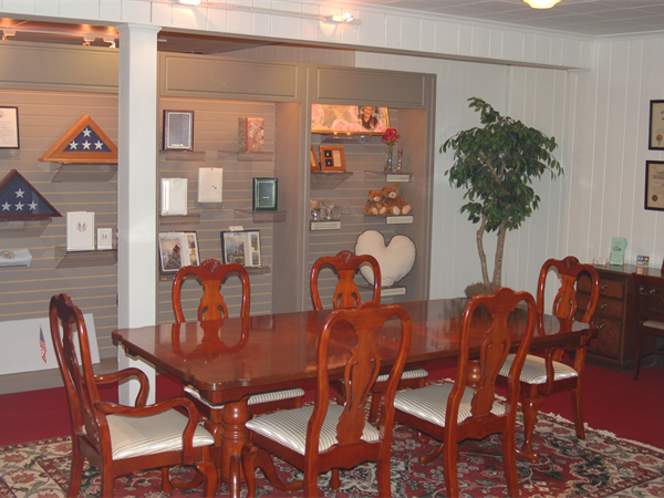 Bergin Funeral Home Interior