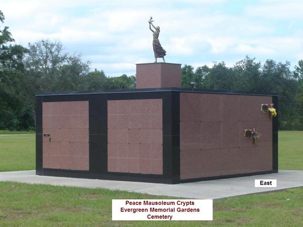 Evergreen Memorial Gardens Peace Mausoleum Crypts