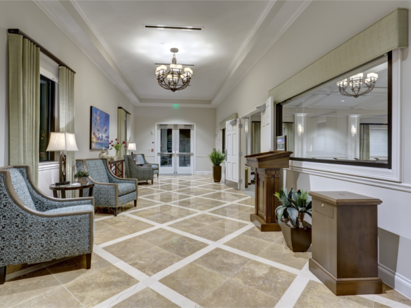 Emerald Coast Funeral Home Interior