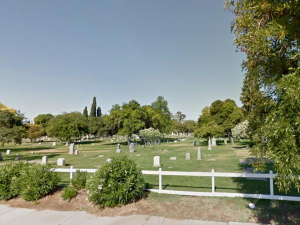 Oak View Memorial Park Cemetery Grounds