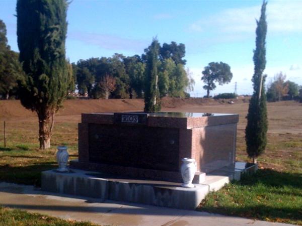 Oak View Memorial Park Cemetery Private Family Mausoleums