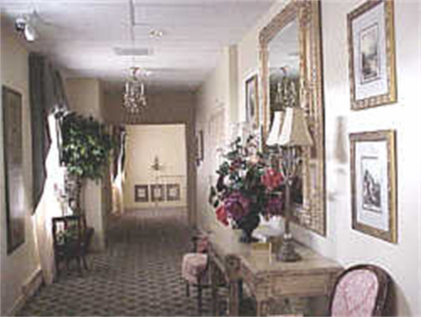 John E. Day Funeral Home Interior