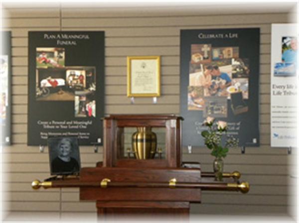 John E. Day Funeral Home Interior
