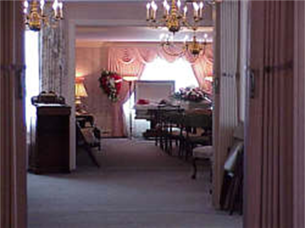 Braun Funeral Home Interior