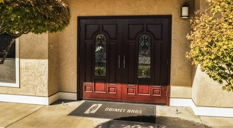 Ouimet Bros. Concord Funeral Chapel Exterior Doors