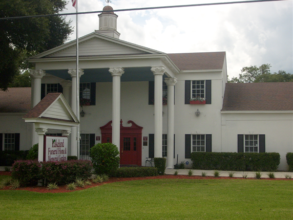 Awesome Lakeland Funeral Home Exterior