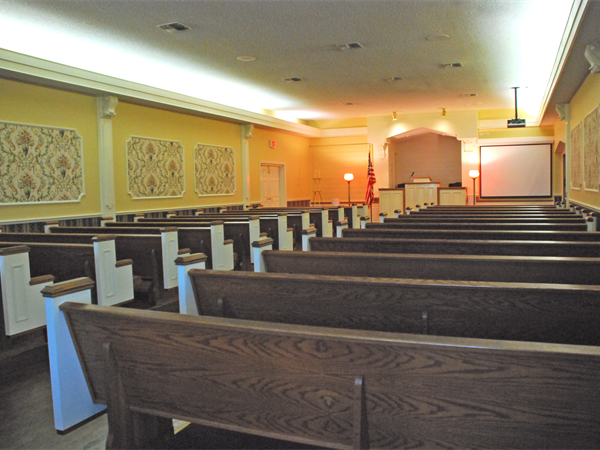 Lakeland Funeral Home Interior