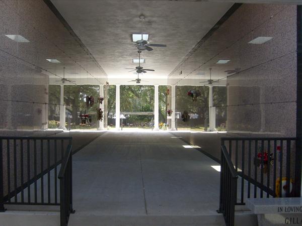 Lakeland Memorial Gardens Mausoleum Interior