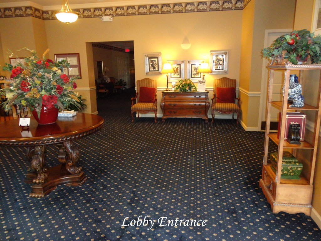 Donohue Cecere Funeral Directors Lobby Entrance