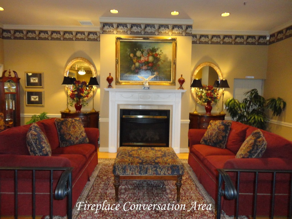Donohue Cecere Funeral Directors Fireplace Conversation Area