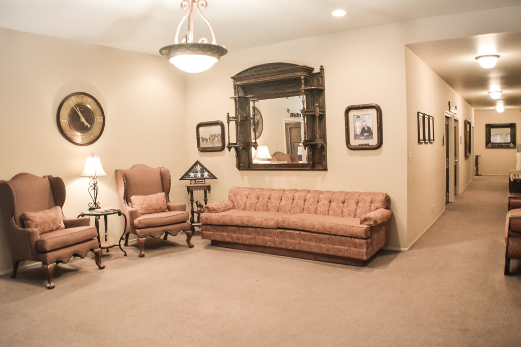 P.L. Fry  Son Funeral Home Interior