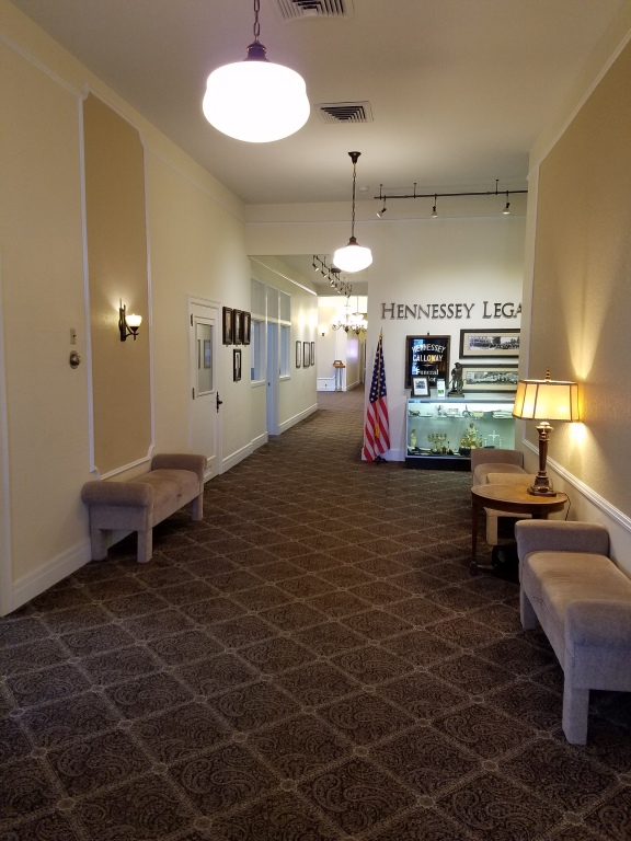 Hennessey Funeral Home - Downtown Location Interior