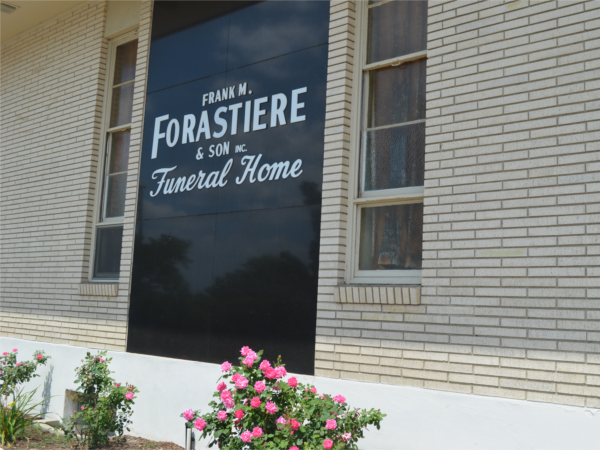 Forastiere Family Funeral  Cremation Exterior