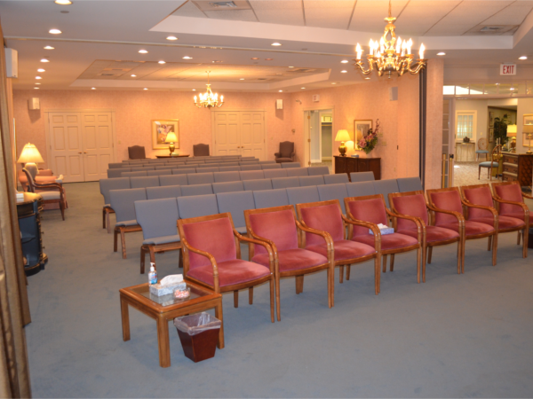 Forastiere Family Funeral  Cremation Interior