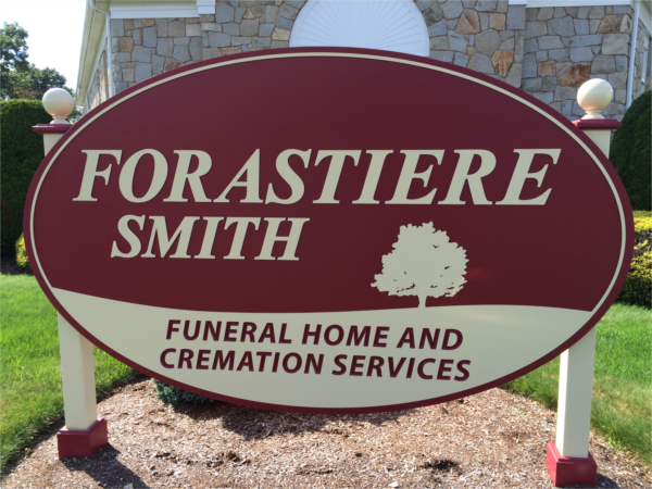 Forastiere Smith Funeral  Cremation Sign