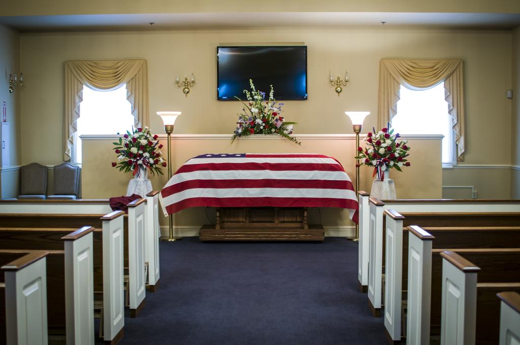 Rader Funeral Home Interior