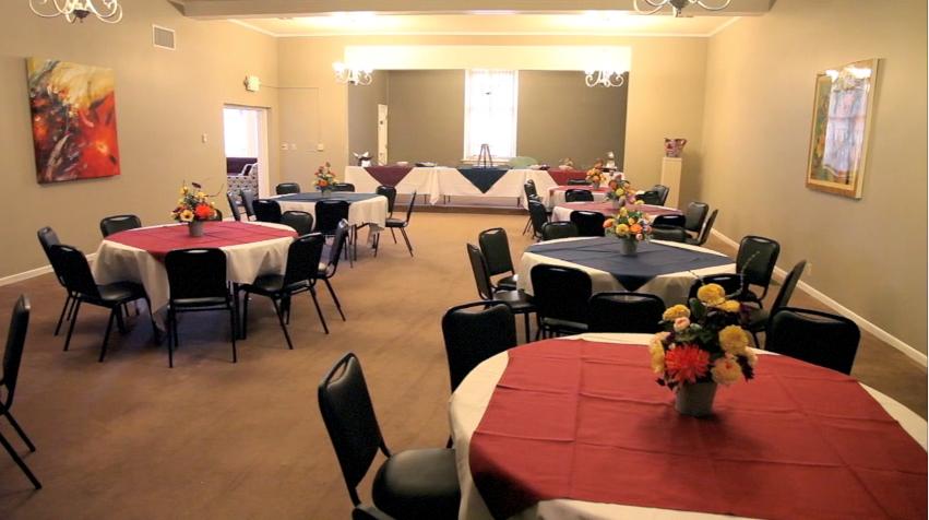 Life Event Center Main Room