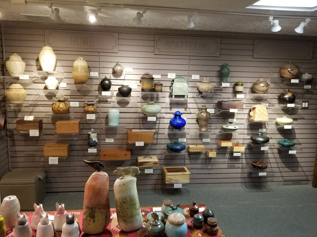 Local Artist One of a Kind Urns