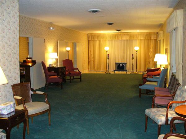 Hubbard Funeral Home Interior