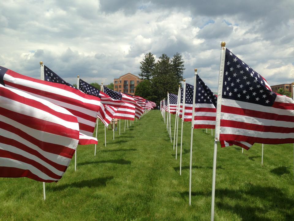Hubbard Funeral Home Flags