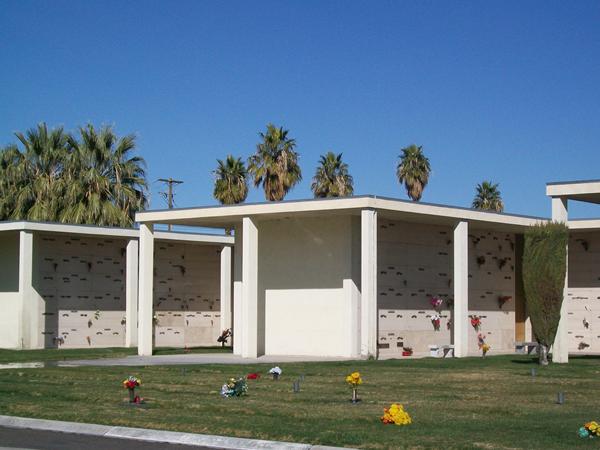 Bunkers Eden Vale Memorial Park Columbarium Exterior