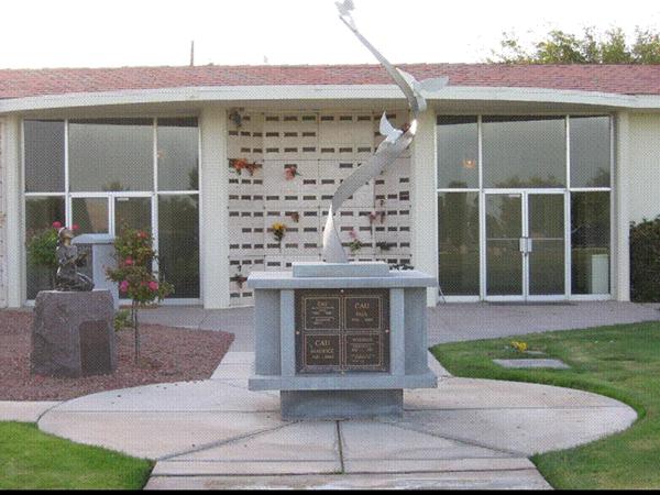 Bunkers Memory Gardens Memorial Park Columbarium Exterior