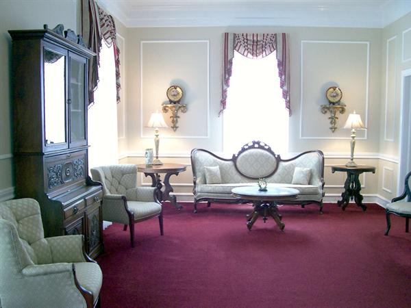 Sullivan Funeral Home Interior