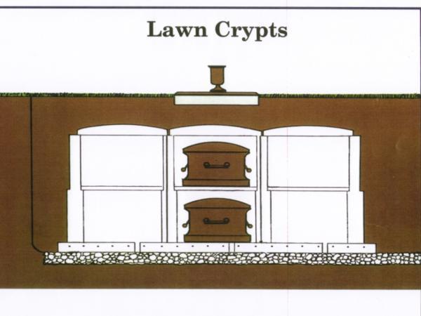 Lauderdale Memorial Park Lawn Crypts