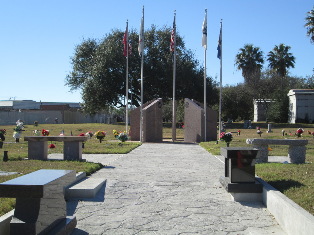 Rose Hill Memorial Park Flag Monument