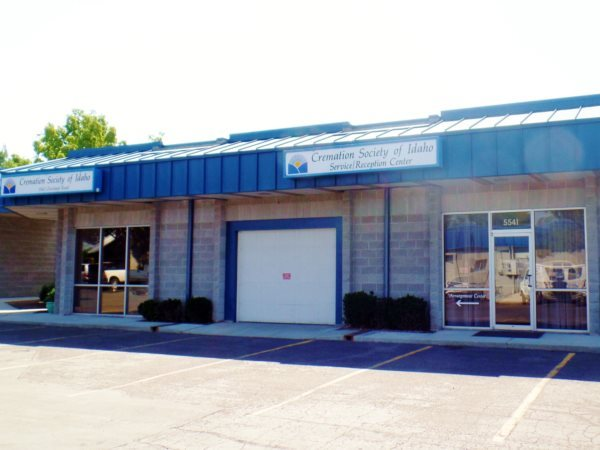 Cremation Society of Idaho Exterior