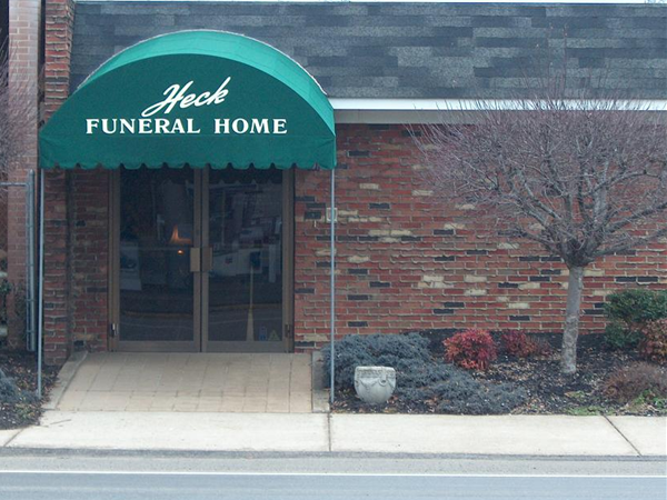 Heck Funeral Home Exterior