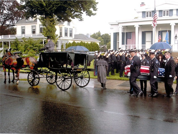 Cody-White Funeral Home Carriage