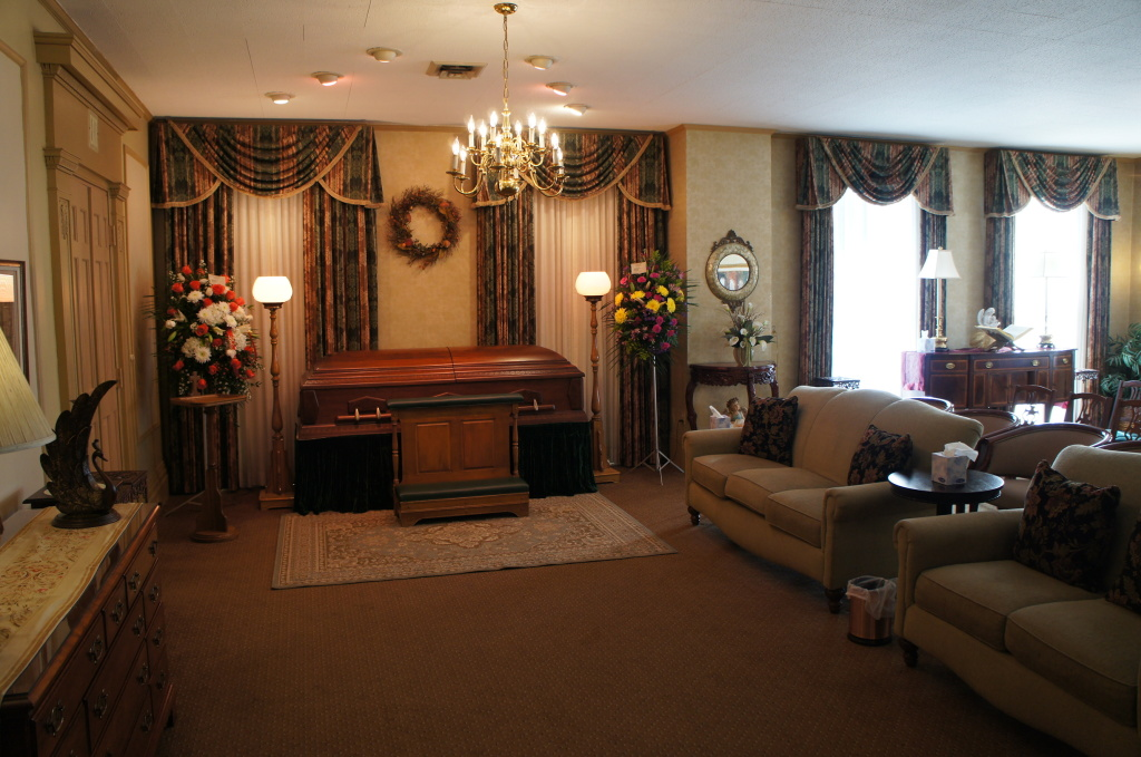 Cody White Funeral Home Interior
