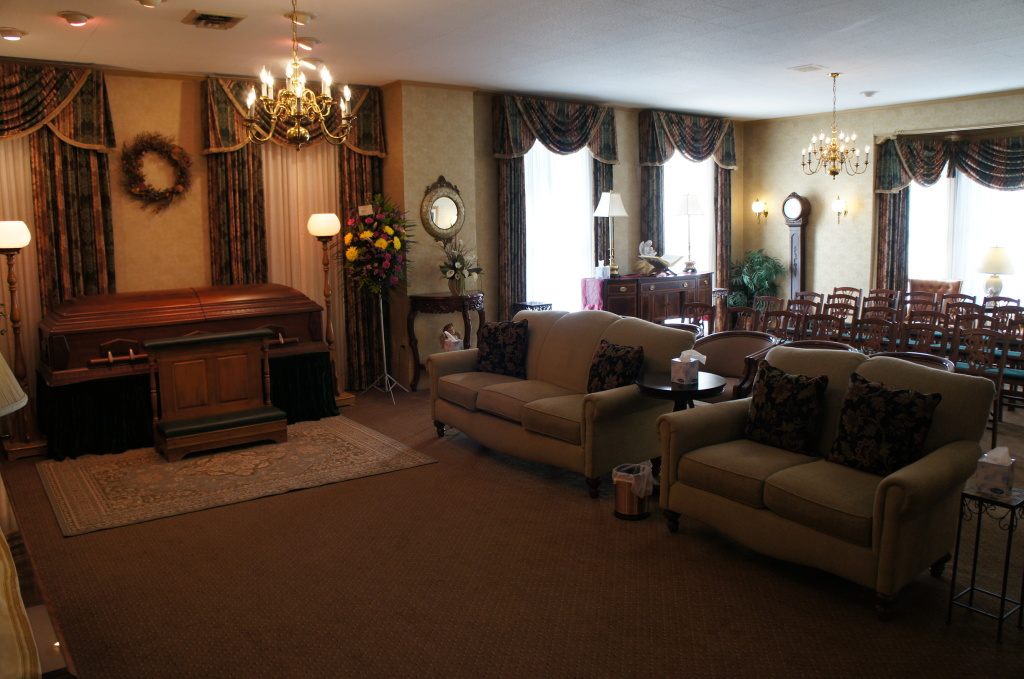 Cody-White Funeral Home Interior