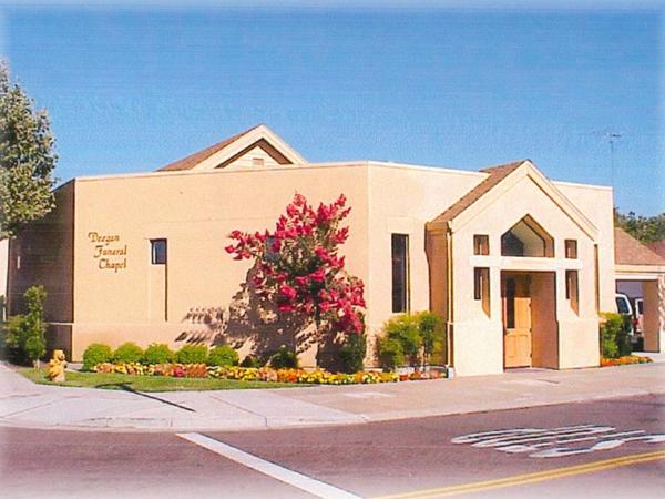 Deegan Funeral Chapel Exterior