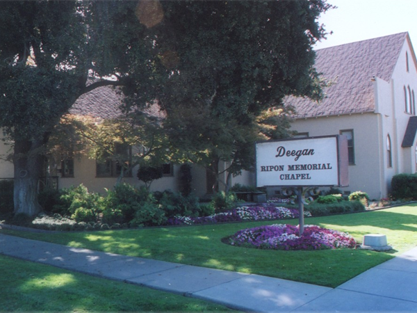 Deegan-Ripon Memorial Chapel Exterior