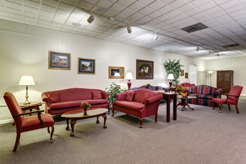 McLaughlin Mortuary Interior
