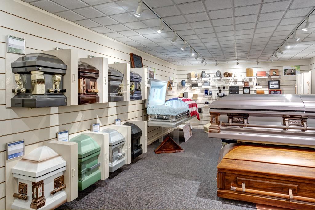 McLaughlin Mortuary Interior